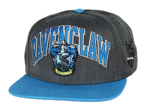 Harry Potter Ravenclaw House Crest Embroidered Adjustable Snapback Hat Cap
