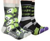 Beetlejuice Socks Adult Crew Socks 2 Pack For Women Men
