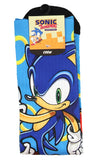 Sonic The Hedgehog Character Gold Rings Sublimated Crew Socks Mid-Calf
