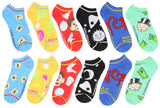 Monopoly And Board Games Women And Men 6 Pack Ankle Socks - Seven Times Six