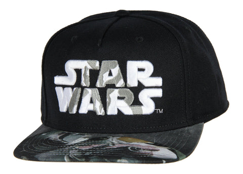 Star Wars Mandalorian Embroidered Adjustable Adult Snapback Hat Baseball Cap