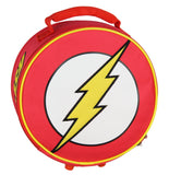 DC Comics Flash Lunch Box Soft Kit Insulated Cooler Circle Bag