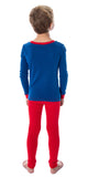 Sonic The Hedgehog Boys' Ready Set Go! Long Sleeve Shirt And Pants 4 Piece Video Game Sleepwear Pajama Set