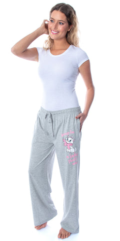 Disney Women's Aristocats Marie A Lady Comfy Pajama Pants