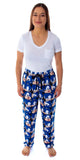 Sonic The Hedgehog Men's Video Game Character Face Pattern Sleep Lounge Pajama Pants
