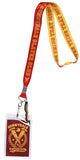 Buffy The Vampire Slayer Lanyard Sunnydale Slayers Club ID Badge Holder With Rubber Pendant