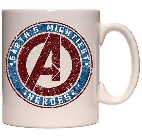 Marvel Avengers Earths Mightiest Heroes Ceramic Coffee Mug 11 oz. Beverage Cup