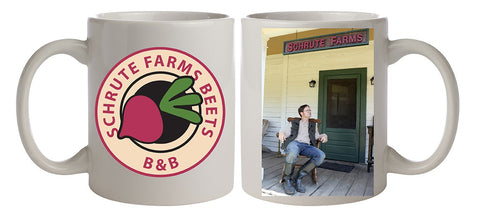 The Office Dwight Schrute Farms Beets Ceramic Coffee Mug 11 Oz. Beverage Cup