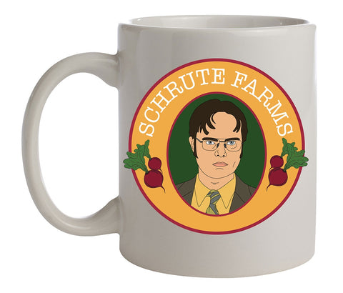 The Office Dwight Schrute Farms Ceramic Coffee Mug 11 Oz. Beverage Cup