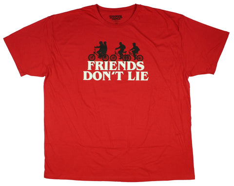 Stranger Things Friends Don't Lie Men's T-Shirt