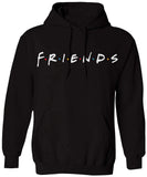 Friends Unisex Across Chest Letter Print Pullover Hoodie Sweatshirts