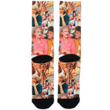 The Golden Girls Expressions Photo Collage Sublimated Crew Socks