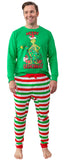 Dr. Seuss Grinch Merry Grinchmas! Matching Family Adult And Kids Pajama Set Outfits