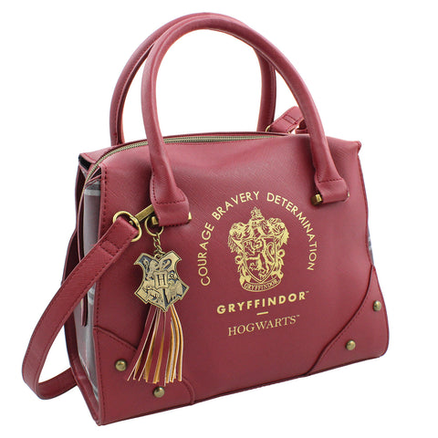 Harry Potter Purse Designer Handbag Hogwarts Houses Womens Top Handle Shoulder Satchel Bag