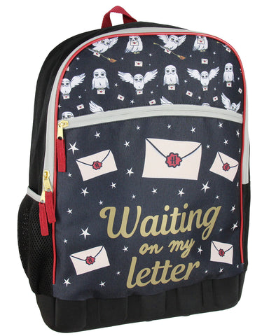 Harry Potter Hogwarts Hedwig Waiting On My Letter School Backpack