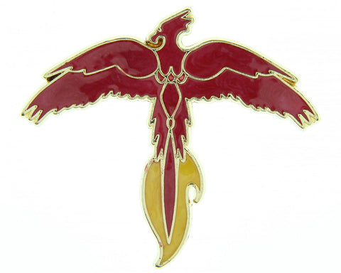 Loot Crate Harry Potter Fawkes Phoenix Enamel Pin