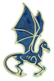Harry Potter Wizarding World Thestral Broche Brooch Golden Enamel Pin
