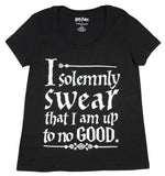 Harry Potter Solemnly Swear Magic Wand Womens T-Shirt