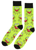 Disney The Muppets Hi Ho Kermit The Frog 2 Pair Crew Socks - Seven Times Six