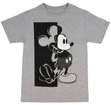 Disney Boys' Mickey Mouse Shirt Now and Then Mickey T-Shirt