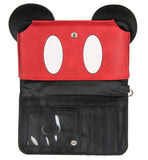 Disney Mickey Mouse Ears 90 Years True Original 3D Cell Phone Wristlet Wallet