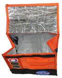 NASA Orange Space Suit Design With Apollo Patches Insulated Lunch Bag Lunch Box Tote