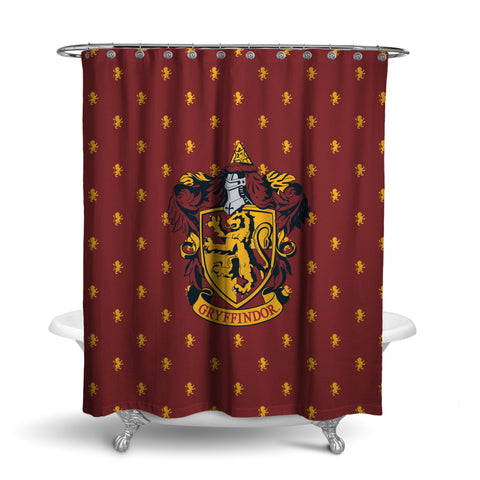 Harry Potter Ravenclaw Shower Curtain House Bathroom Decor with Hook Rings
