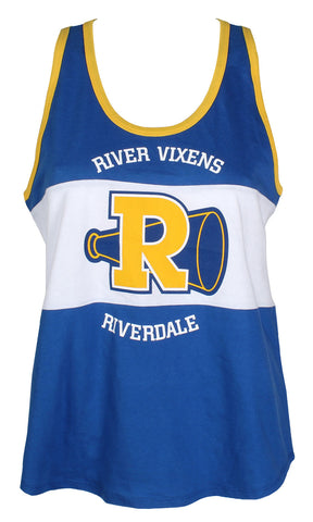 Riverdale Juniors River Vixens Cheerleader Cheer Squad Racerback Tank Top