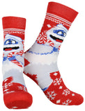 Rudolph The Red-Nosed Reindeer Adult Crew Socks 2 Pack