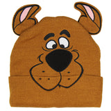 Scooby Doo Costume Hat Beanie Embroidered Scooby Original Cartoon Network Face - Seven Times Six