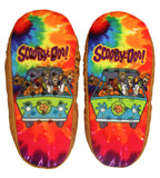 Scooby Doo Slippers With Tie Dye Mystery Machine No-Slip Sole Slipper Socks For Women Men