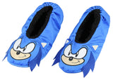 Sonic The Hedgehog Slippers 3D Character Slipper Socks with No-Slip Sole For Women Men