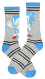 Sega Sonic The Hedgehog Supersonic Speed Novelty Crew Socks Two Pack