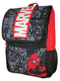 Marvel Spiderman Backpack Front Flap Compartment Travel  Laptop Backpack With 3D Molded Marvel Logo