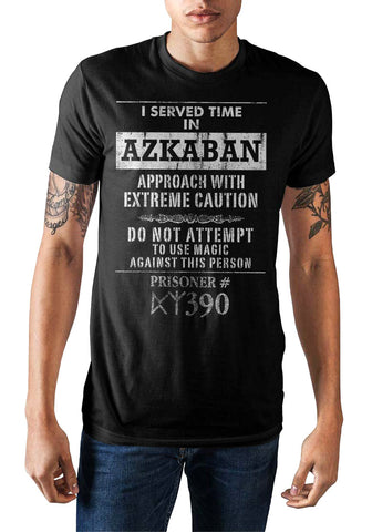 Harry Potter I Served Time In Azkaban Men's T-shirt