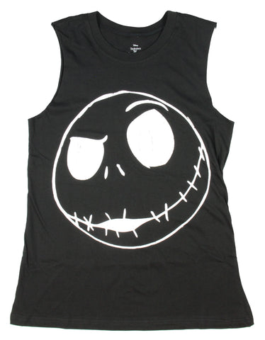 Nightmare Before Christmas Junior's Jack Skellington Muscle Tank