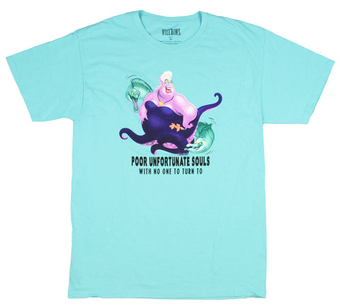 Disney Villains Men's Ursula Poor Unfortunate Souls T-Shirt
