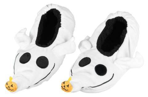 The Nightmare Before Christmas Zero Dog Character Slipper Socks with No-Slip Sole For Women Men