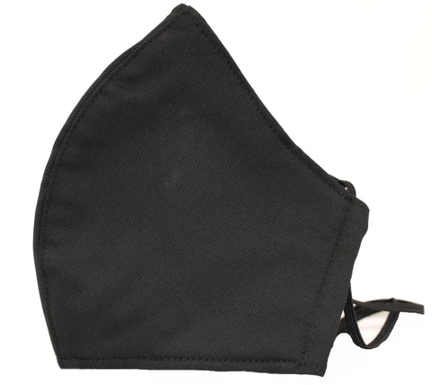 Black Premium Reusable Masks (w/ optional filter insert pocket) - Limited Edition Prints