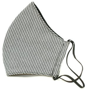 White/black dots/ Premium Reusable Masks (w/ optional filter insert pocket) - Limited Edition Prints