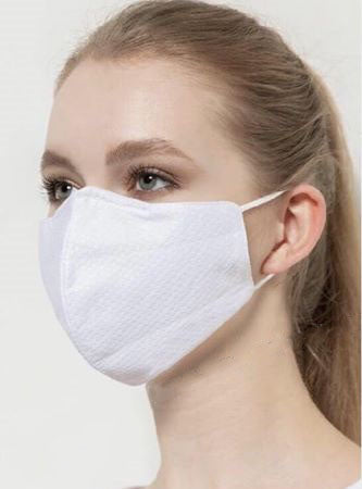 Reusable Face Masks - White, Black, & Navy Colors