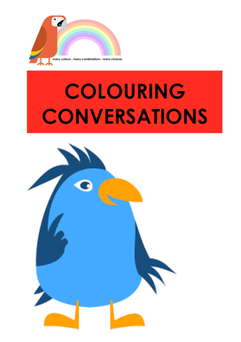 COLOURING CONVERSATIONS