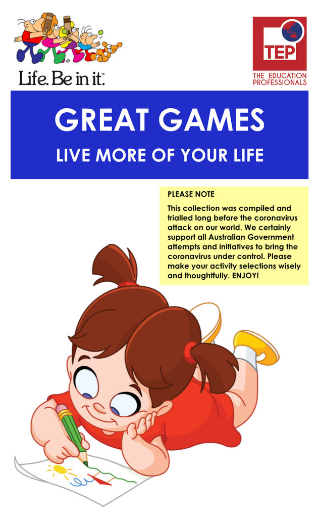 GREAT GAMES [FREE DOWNLOAD]
