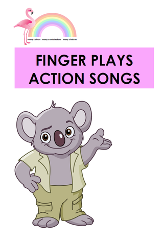 FINGER PLAYS & ACTION SONGS