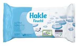 Hakle Feucht Ultra Sensitiv in der 6er Box
