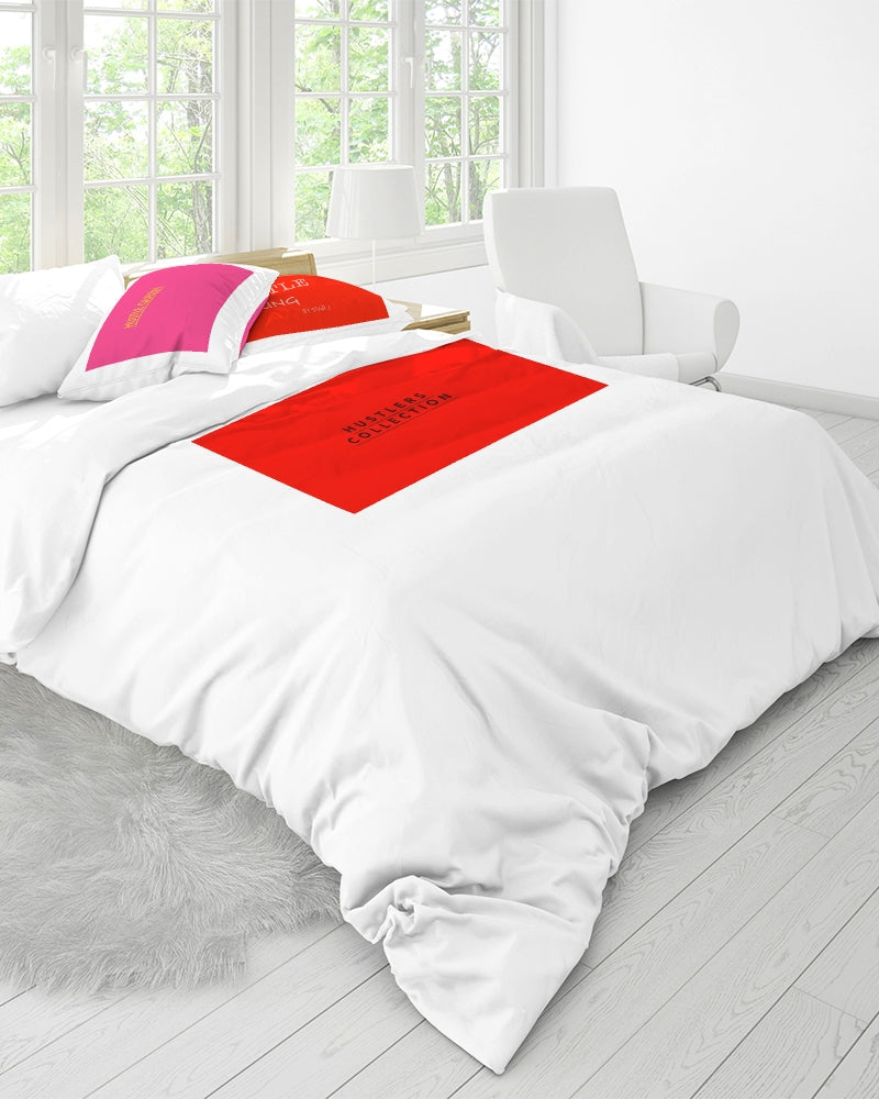 THE HUSTLE BRAND by STAR J Queen Duvet Cover Set