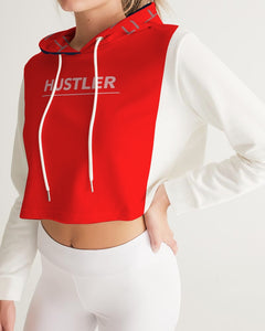 THE HUSTLE BRAND by STAR J Women's Cropped Hoodie