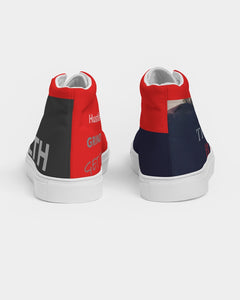 THE HUSTLE BRAND by STAR J Women's Hightop Canvas Shoe