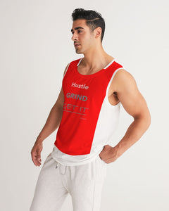 THE HUSTLE BRAND by STAR J Men's Sport Tank