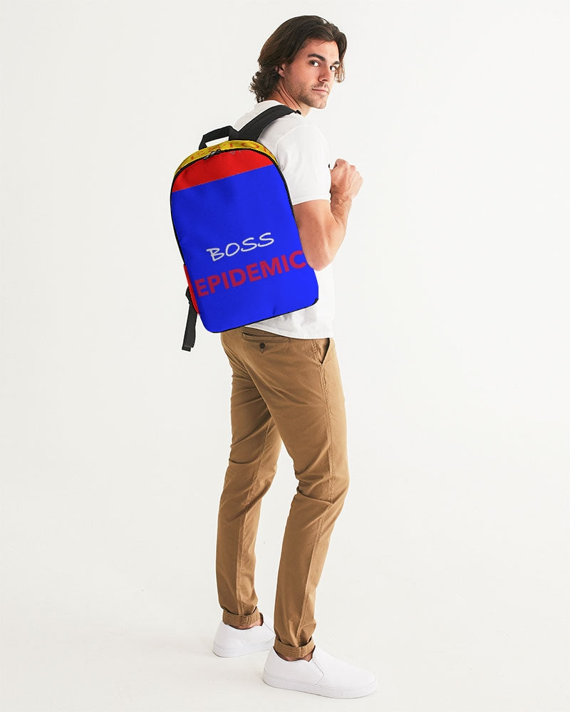 THE HUSTLE BRAND by STAR J Large Backpack